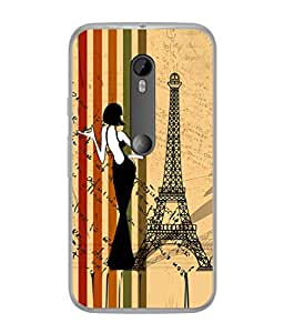 FUSON Designer Back Case Cover for Motorola Moto X Style :: Moto X Pure Edition (Family Friends Happiness Together Sister )