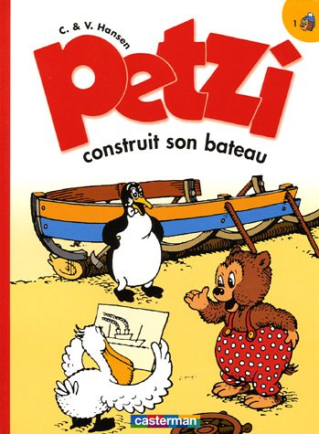 Petzi, Tome 1 : Petzi construit son bateau