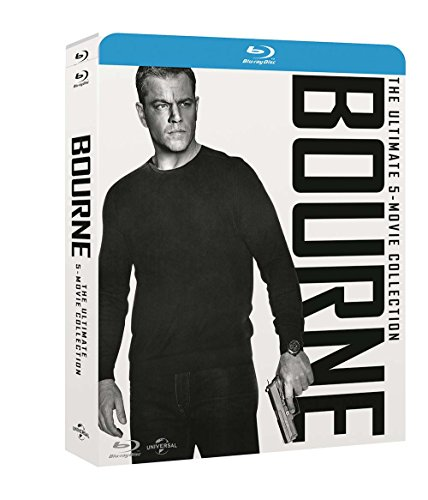 Jason Bourne Movie Collection (5 Blu-Ray)