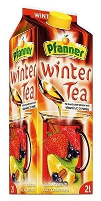 Pfanner Wintertea, 6er Pack (6 x 2 l)