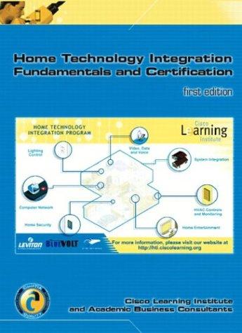 Home Technology Integration+ (Text & Lab Manual w/Software Certification Kit) por Judi Jewinski