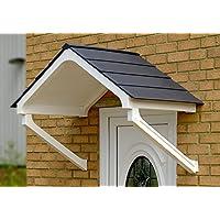 Astor copertura pioggia Shelter cover anteriore fai da te Apex Tenda bianco/marrone grigio (Piastrelle),