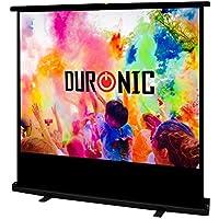 Duronic FPS100 /43 Ecran de projection à piètement/autoportatif de 100 pouces 4:3/203 x 152 cm - 4K Full HD 3D