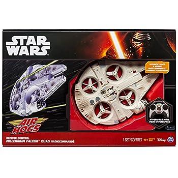 Air Hogs Star Wars: Episode Vii The Force Awakens Remote Control Ultimate Millennium Falcon Quad 3