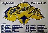 COMMODORES - LIONEL RICHIE - 1985 - Tourplakat - Nightshift - Tourposter