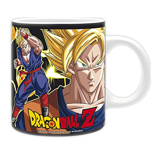 DRAGON BALL - Taza DBZ Super Saiyans 320 ml