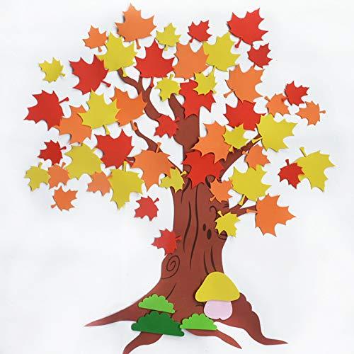 Schaum-baum (Kindergarten Wanddekoration Big Apple Baum Schaum-Klassenzimmer Tafel Wall Stickerwandaufkleber Für Schlafzimmer Aufkleber Wandsticker Wohnzimmer Mit Diy Wand Spiegel Stück Und Hintergrund Sticker)