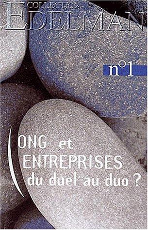 ONG et entreprises du duel au duo ? Colloque du 27 fvrier 2001 au Snat