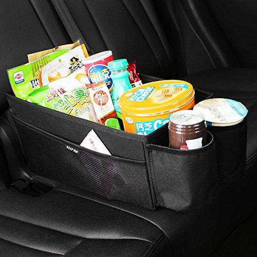 KEEP TOP, Rückbank-Organizer fürs Auto, zum Verstauen von Spielzeug / Zubehör, faltbare Aufbewahrungsbox Vordersitz Organisation