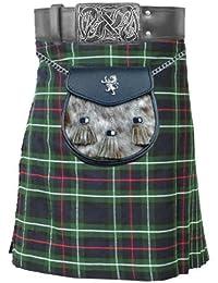 Macdonald Sporrans Mackenzie 5 m 10 g Motif Tartan écossais traditionnel Highland Chaussettes de Kilt pour homme