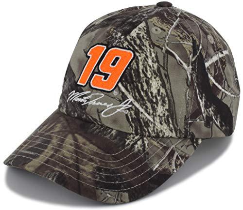 Karierte Flagge Martin Truex Jr TrueTimber Camo Big Number #19 NASCAR Hut -