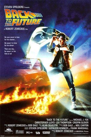 Empire 261632 Poster Ritorno al futuro, Michael J. Fox, Film, ca. 91,5 x 61 cm