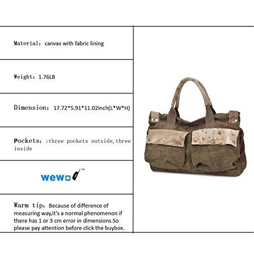 Wewod Bagaglio a mano, marrone (Marrone) - 1601 marrone