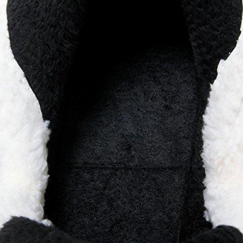 RAZAMAZA Femmes Hiver Botines a Enfiler Black