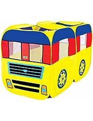 zhudj el juguete de casa autobús cortina hijo coche juguete juegos Casa Grande Casa Giochi,
