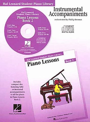 Piano Lessons: Book 2 (Student Piano Library)