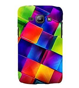 For Samsung Galaxy J2 J200G (2015) :: Samsung Galaxy J2 Duos :: Samsung Galaxy J2 J200F J200Y J200H J200GU box pattern ( box pattern, pattern, square, box ) Printed Designer Back Case Cover By CHAPLOOS
