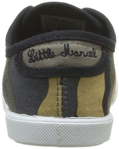 Little Marcel  Sanlas Print J,  Unisex-Kinder Sneaker Schwarz - Noir (Army Noir)