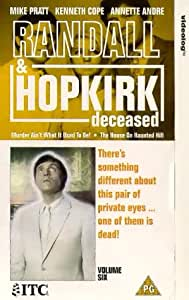 Randall And Hopkirk (Deceased): Episodes 11-12 [VHS] [1969]