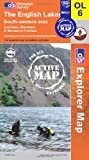 The English Lakes - South Western Area (OS Explorer Map Active)