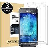 EasyULT Panzerglas Für Galaxy Xcover 3[3 Stück], Bildschirmschutzfolie Bildschirmschutz Glas Folie Panzerglasfolie Schutzfolie für Galaxy Xcover 3(3D Touch Kompatibel)
