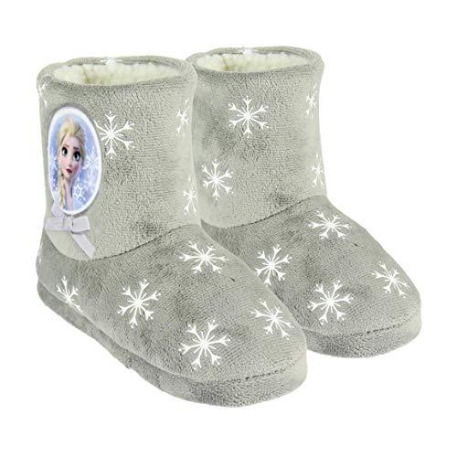 Artesania Cerda Zapatillas DE CASA Bota Frozen 2, Botas Niñas, Gris (Gris C13), 30 EU