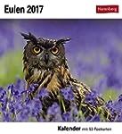 Eulen - Kalender 2017: Kalender mit 5...