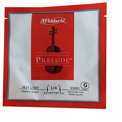 D'Addario Orchestral Prelude - escala 1/4, tensión media