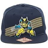 Gorra de béisbol–Marvel–nuevo de Lobezno (azul marino gorra con licencia sb0h6nmvl