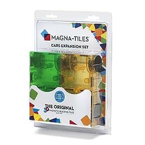 Magna Tiles 16022 Cars 2 Piece Expansion Set Amazon Co Uk