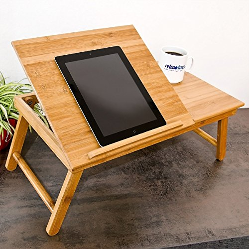 % Relaxdays, Tavolino D'Appoggio, Bambù, 55 X 33 X 24 cm, Marrone miglior prezzo