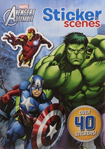 Marvel Avengers Assemble Sticker Scenes