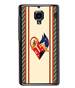 PrintVisa Metal Printed Pattern Designer Back Case Cover for Xiaomi Redmi 1S-D4875