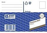 Avery Zweckform 2839 Postkarten lose weiß