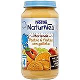 Nestlé Naturnes Postres de 6 Frutas Con Galleta, 250 g