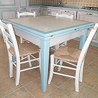 Tavolo artistico in legno massello firmato Bruno mandis sardegna