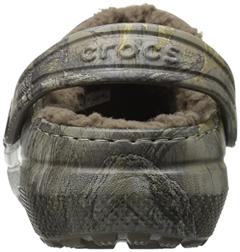 Crocs - Classique Realtree Xtra Lined Clog (enfant / Little Kid) Chocolate/Chocolate