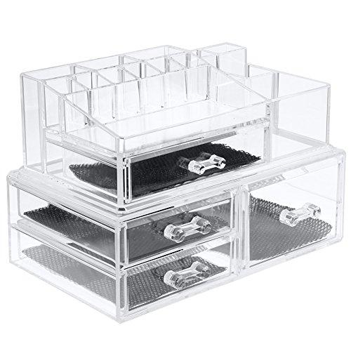 iswees-cosmetic-organizer-scatola-organizzatore-trucco-make-up-e-2-parti-4-cassettiera-19-sezioni-in