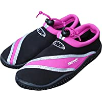 TWF Mujer Snapper Wetshoes, Mujer, Snapper, Gris y Rosa, Size EU 40/UK 6