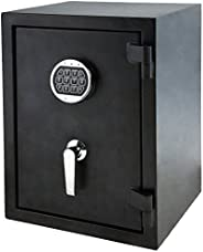 AmazonBasics Fire Resistant Safe - 1.24 Cubic Feet(35.11 litres)
