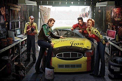 Rahmen-Kunst Keilrahmen-Bild - Chris Consani: Eternal Speedway Leinwandbild James Dean Marilyn Monroe Elvis Presley (80x120) (Bilder Marilyn Elvis Und Monroe)