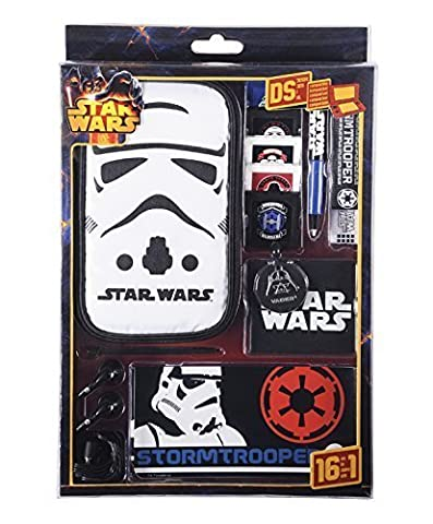 Accessoires et sacoche Star Wars pour Nintendo DSLite/DSi/DSiXL/3DS/3DSXL