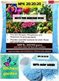 #4: NPK 20 20 20 Water Soluble Fertilizer for Garden (950 gm) - Free Shipping