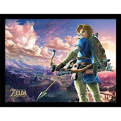 PYRAMID - Cadre Zelda BOTW Hyrule Scene