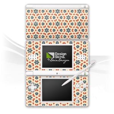 Nintendo DS Lite Design Skin Folie Aufkleber - Retro Cubes