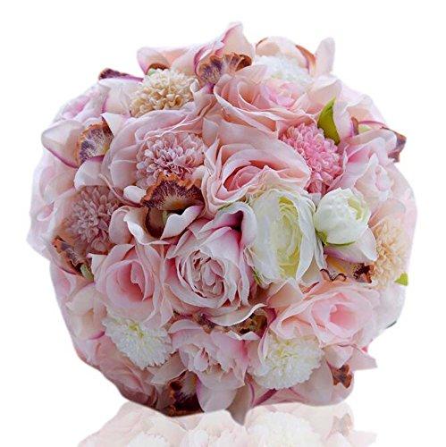 Klassische europäische Art Rose Blumen Brautstrauß Hochzeit liefert