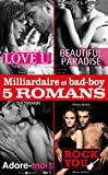 Milliardaire et bad-boy - Cinq romans