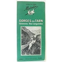 Guide du Pneu Michelin Gorges du Tarn, Cévennes-Bas Languedoc 1958