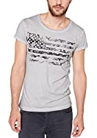 QS by s.Oliver Herren T-Shirt 40.408.32.3113