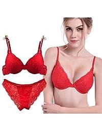 dec639cf872e78 Suchergebnis auf Amazon.de für: Sexy Rote Unterwäsche - Push-Up BH ...